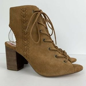 Sole Society Rohan Lace-Up Bootie Sandals